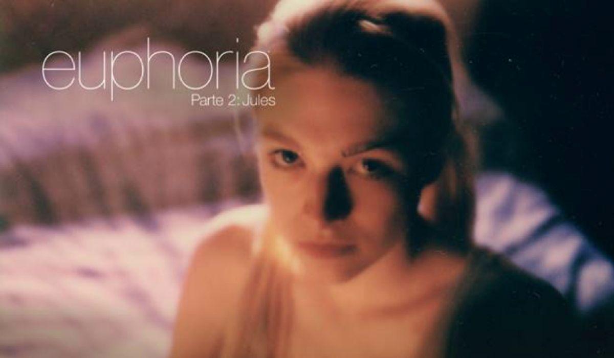 Hunter Schafer in un'immagine promozionale di Euphoria Part 2: Jules. Credits: HBO via Sky.