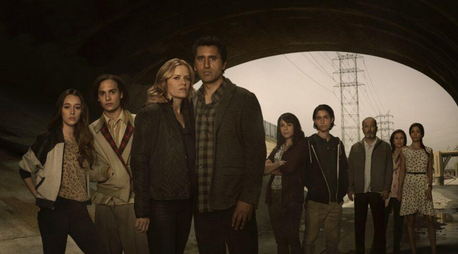 Il cast della prima stagione di Fear The Walking Dead. Credits: AMC/MTV.