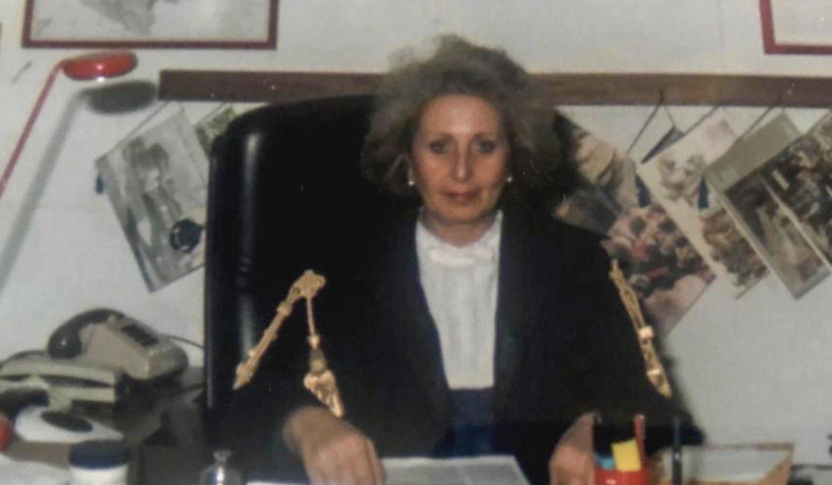 francesca vitale da giovane tra le intervistate nella fiction io una giudice popolare al maxiprocesso credits rai