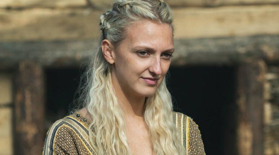 Georgia Hirst interpreta Torvi In Vikings 6A, Credits Timvision