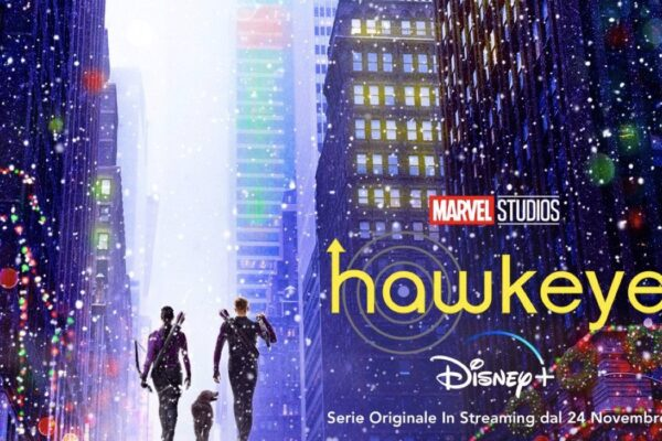 hawkeye serie tv disney plus marvel studios poster
