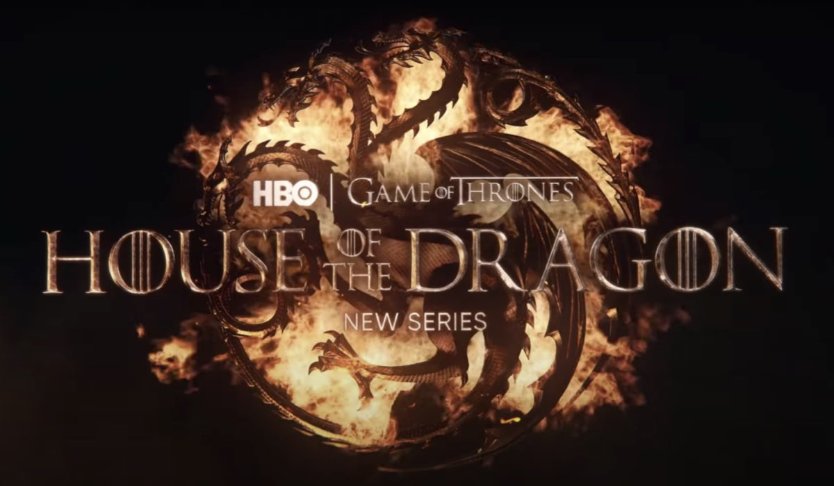 House of the Dragon, la title card della serie. Credits: HBO, WarnerMedia.