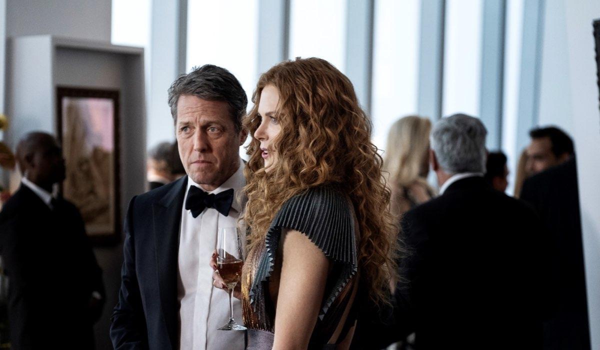 Da sinistra: Hugh Grant e Nicole Kidman The Undoing. Credits: HBO/Sky.