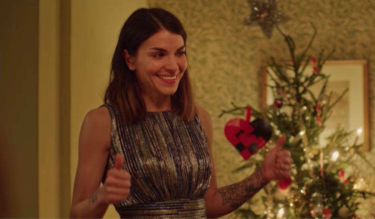Johanne (Ida Elise Broch) in una scena di Natale Con Uno Sconosciuto 2. Credits: Netflix.