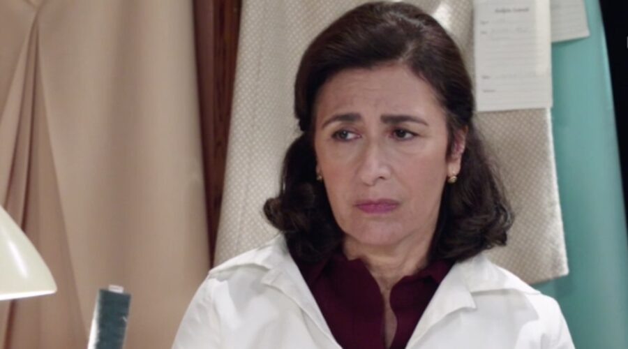 Il Paradiso Delle Signore 5 Agnese Amato interpretata Da Antonella Attili, qui nella puntata 47 Credits Rai