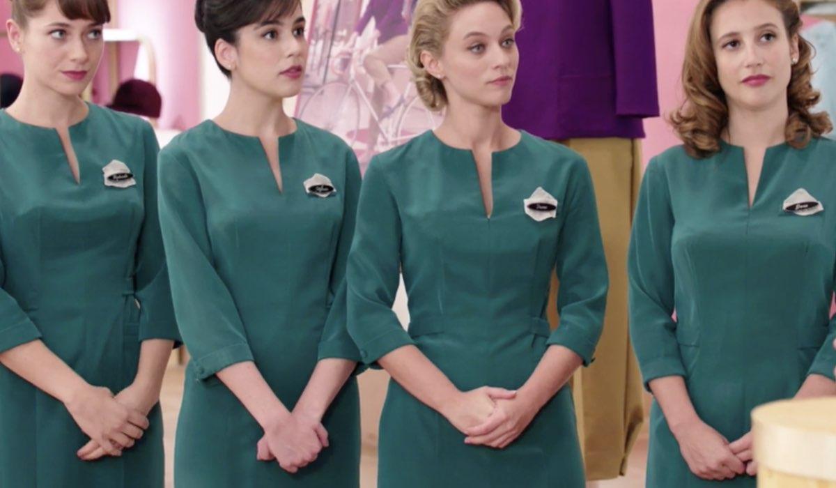 Il Paradiso delle Signore 5 le Veneri Roberta, Stefania Irene e Dora qui nella puntata 39 Credits Rai