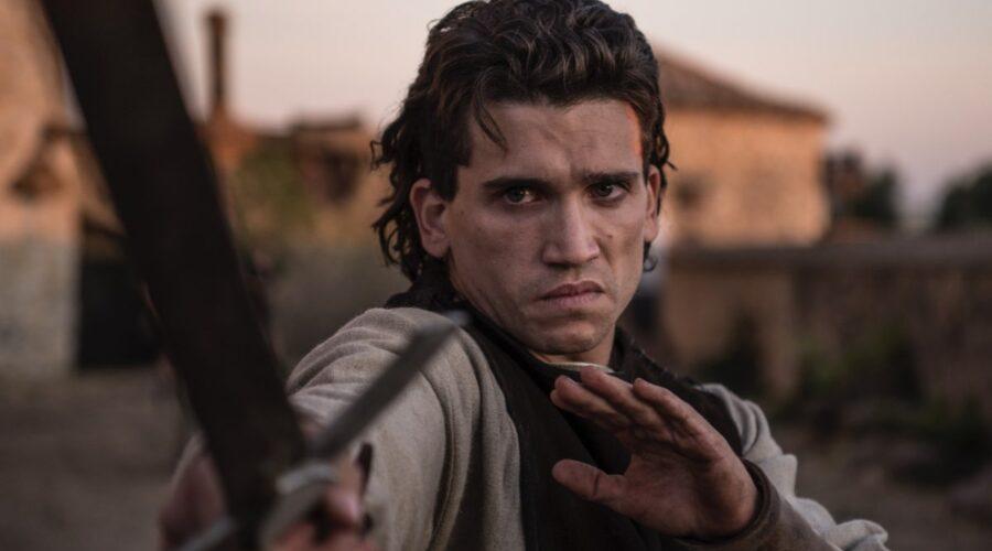 Jaime Lorente in una scena di El Cid. Credits: Amazon Prime Video.