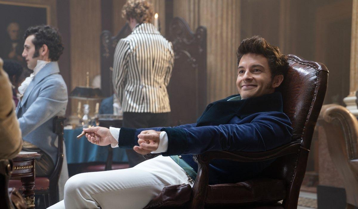 Jonathan Bailey interpreta Anthony Bridgerton. Credits: Liam Daniel/Netflix.
