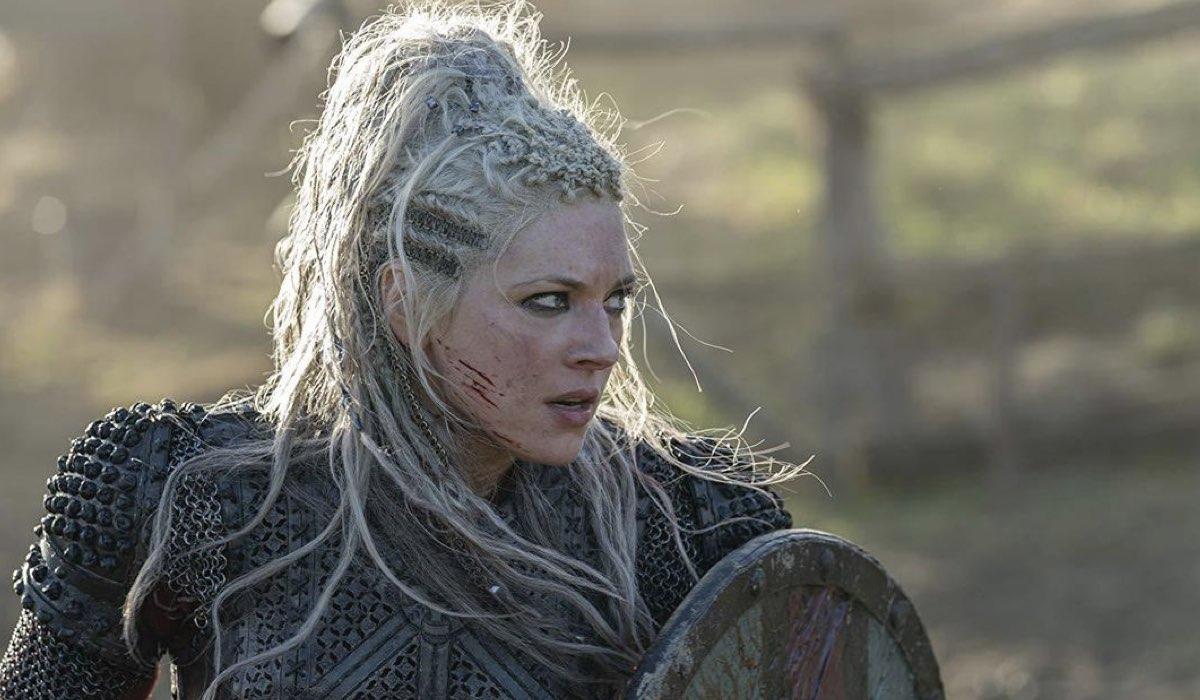 katheryn winnick interpreta lagertha in vikings 6 credits rai 4
