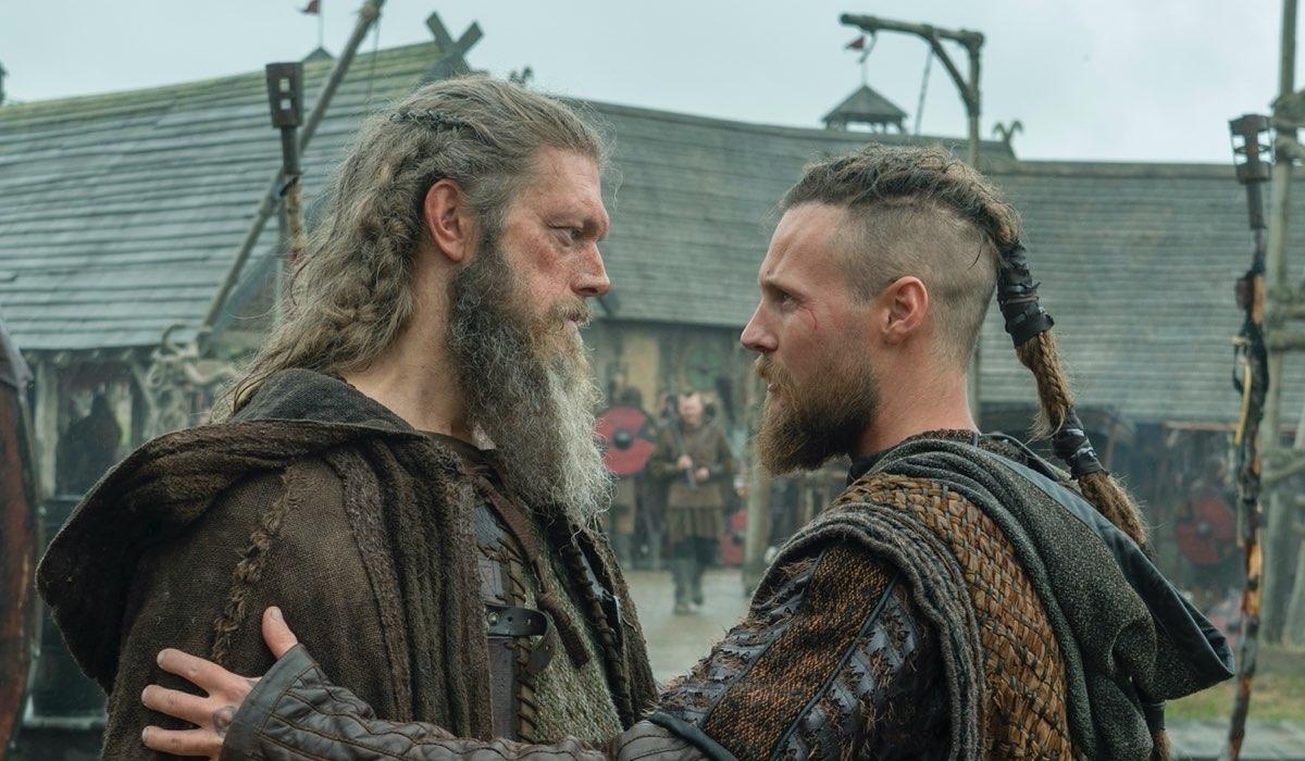 Kjetill Naso Piatto e Ubbe In Vikings 6A Credits Timvision