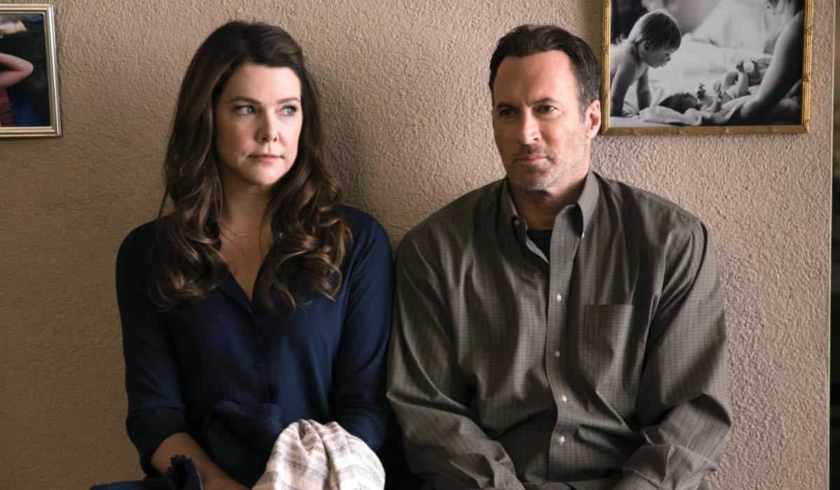 Lauren Graham E Scott Patterson In Una Mamma Per Amica Di Nuovo Insieme. Credits: Saeed Adyani/Netflix