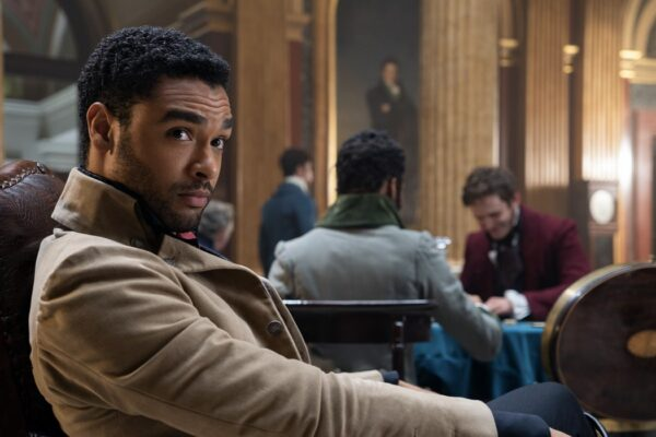 Simon Basset (Regé Jean-Page) in Bridgerton. Credits: Liam Daniel/Netflix.