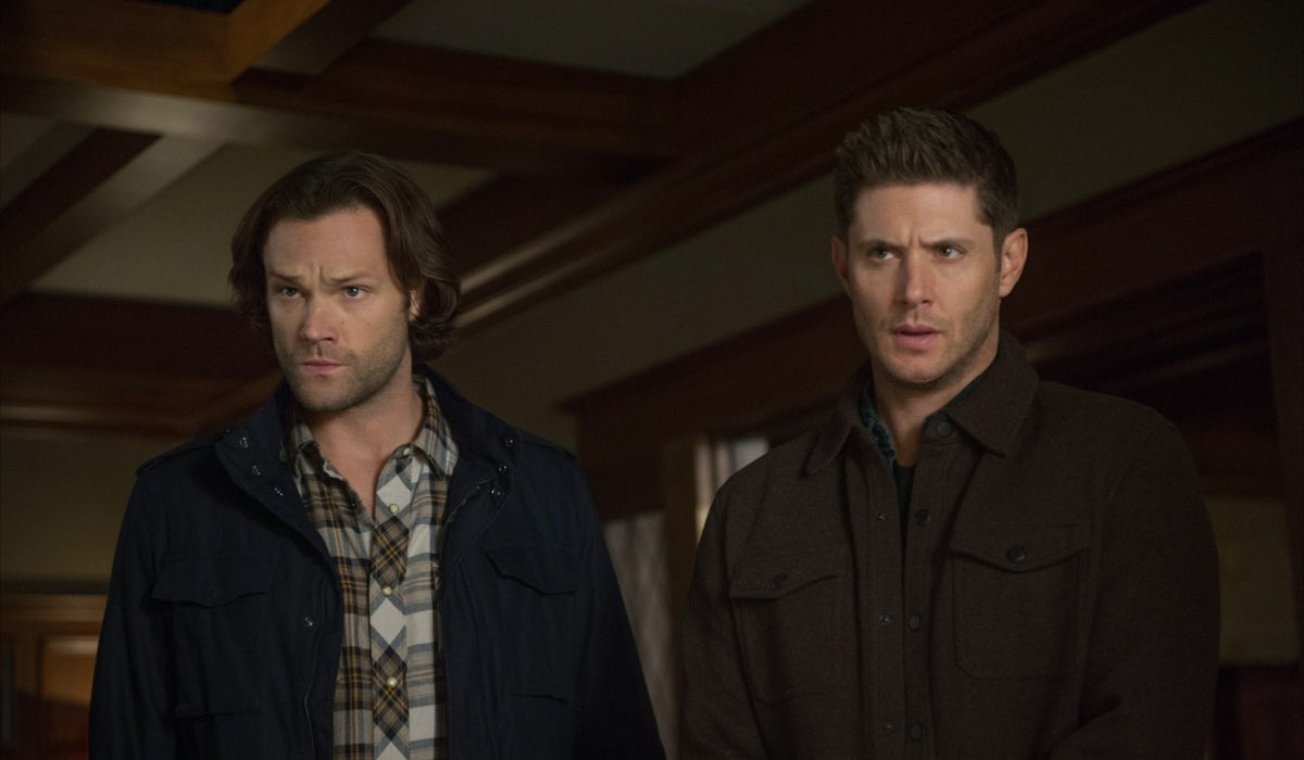 Da sinistra: Jared Padalecki (Sam) e Jensen Ackles (Dean). Credits: Rai 4/Warner Television.