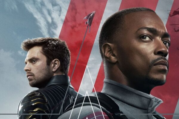 Falcon e Winter Soldier nel post della serie tv. Credits: Marvel Studios/Disney Plus.