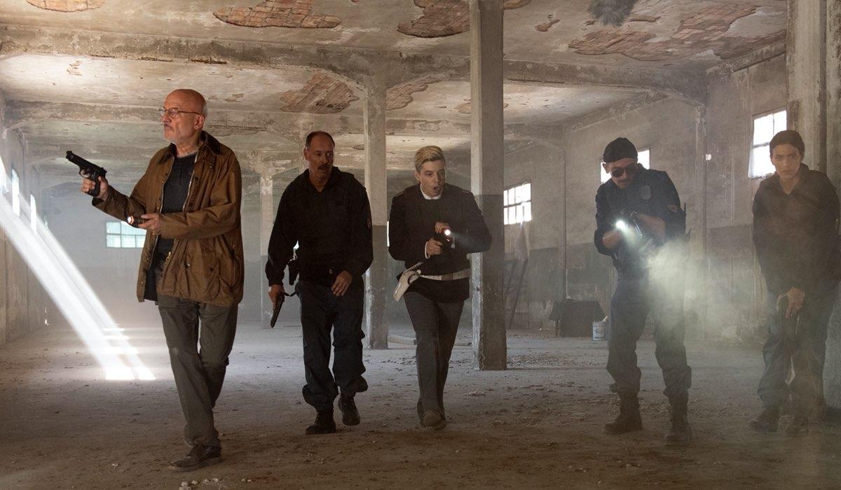 Una Scena Di Cops Una Banda Di Poliziotti Credits Gianni Fiorito/Sky