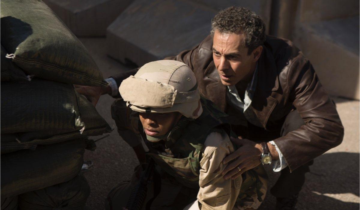 Waleed Zuaite in una scena di Baghdad Central. Credits: Fremantle via Sky Italia.