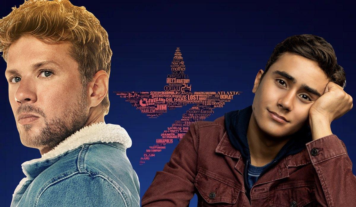 Da sinistra: Ryan Philippe in Big Sky e Michael Cimino in Love, Victor. Credits: Disney Plus.