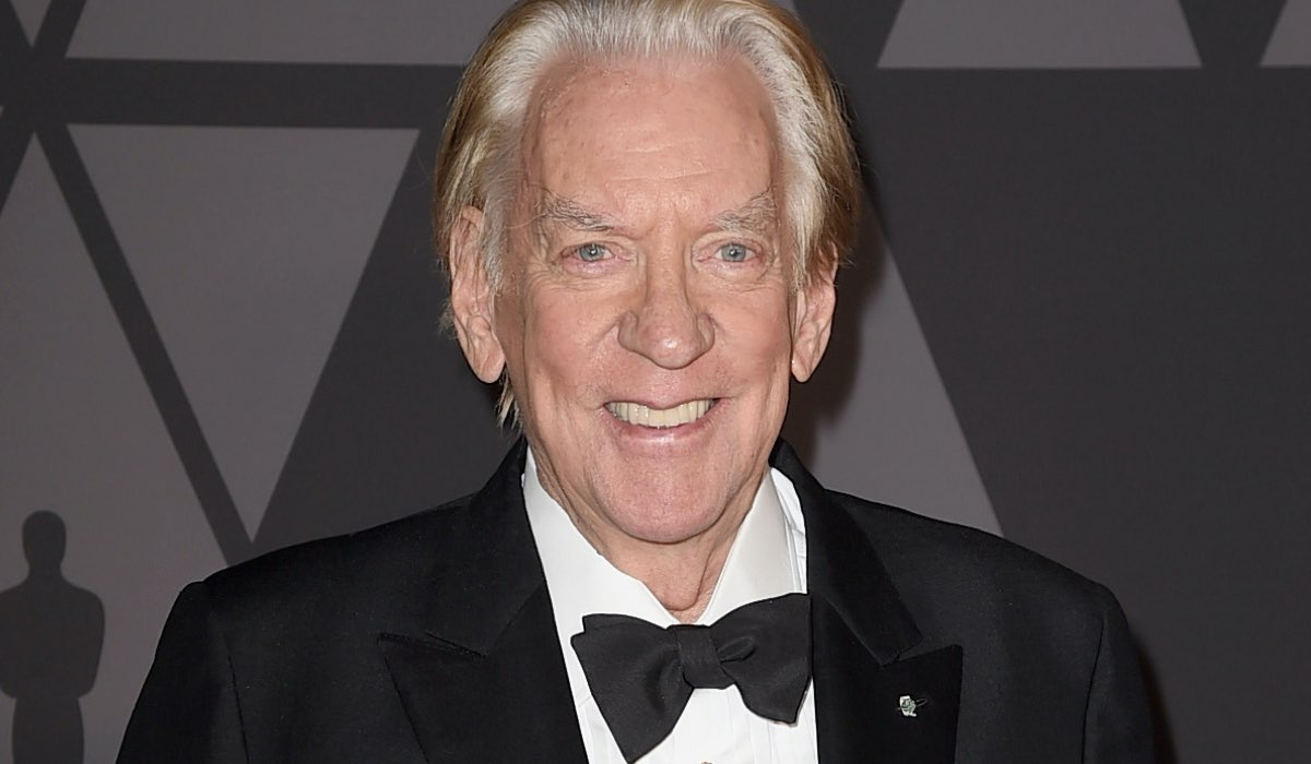 Donald Sutherland durante il nono Annual Governors Awards: Credits Kevin Winter/Getty Images