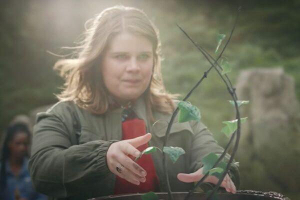 Eliot Salt interpreta Terra in Fate: The Winx Saga. Credits: Netflix.