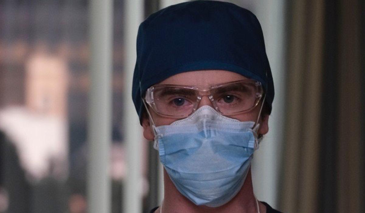 Freddie Higmore in The Good Doctor 4 Stagione Credits Rai