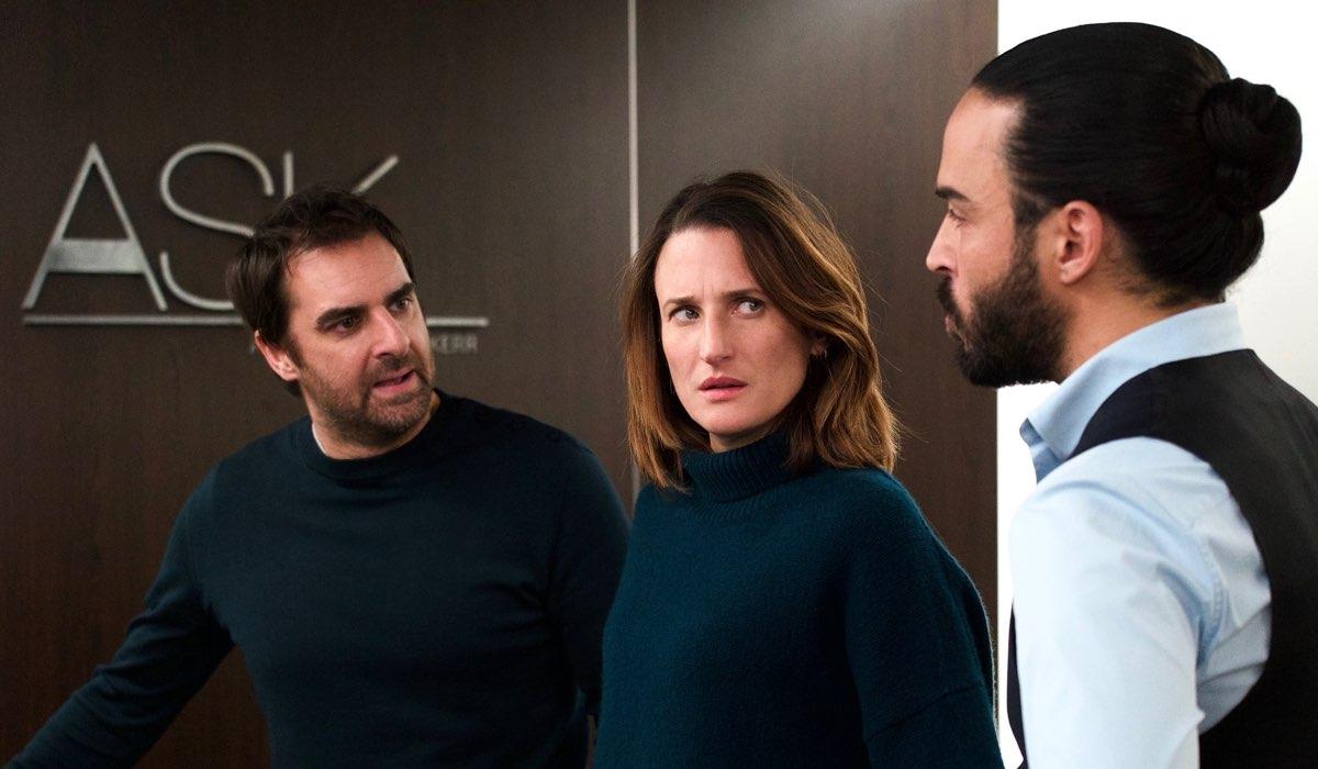 Gregory Montel e Camille Cottin In Chiami Il Mio Agente 4. Credits: Netflix