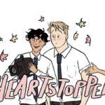 Immagine del fumetto Heartstopper. Credits: Netflix.