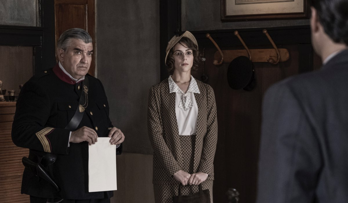 Il Commissario Ricciardi: Antonio Milo e Maria Vera Ratti Nella Seconda Puntata Credits Anna Camerlingo E Rai