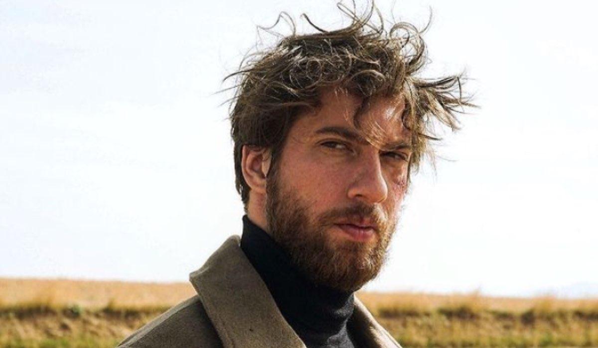 L'attore turco Utku Ates in una foto Postata sul suo Profilo Instragram Ufficiale