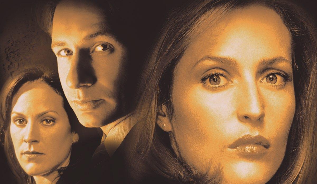 La Parte Superiore Della Locandina Della Serie Tv X-Files Credits Disney