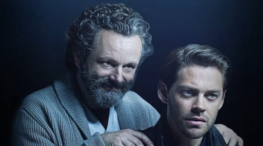 Da sinistra: Martin Sheen e Tom Payne nel poster di Prodigal Son. Credits: Warner Bros. TV via Mediaset.