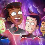 Poster di Star Trek: Lower Decks. Credits: Paramount, Prime Video.