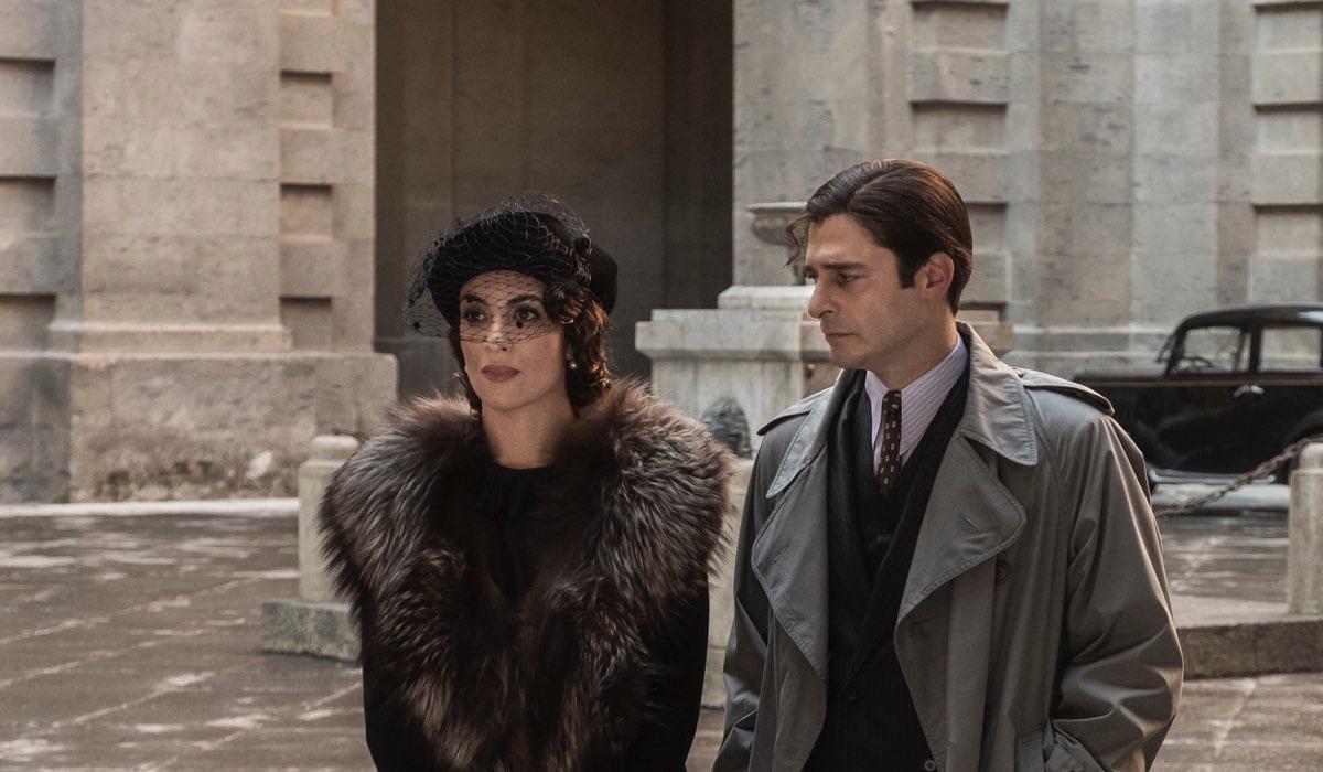 Ricciardi e Livia In Una Scena de Il Commissario Ricciardi. Credits: Anna Camerlingo/Rai