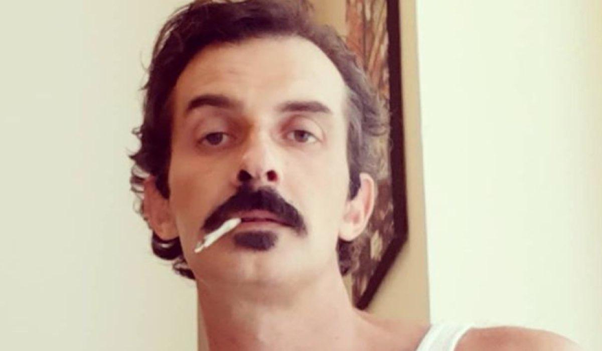 Screenshot Di Una Foto dell'attore Ruben Rigillo Condivisa Sul Suo Profilo Instagram Ufficiale