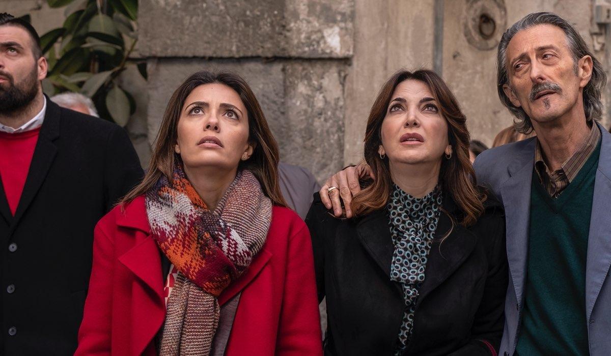 Serena Rossi Rosalia Porcaro e Nando Paone In Mina Settembre. Credits: Rai