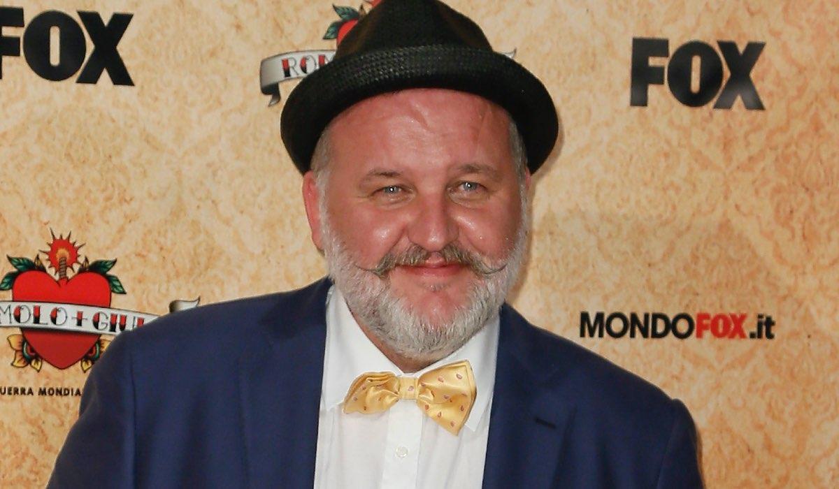 Stefano Fregni alla Premiere Di Romolo + Giuly. Credits: Ernesto Ruscio/Getty Images
