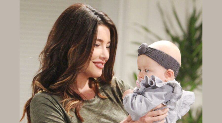 Steffy Forrester e Beth in Beautiful, Credits BBL Distribution e Mediaset