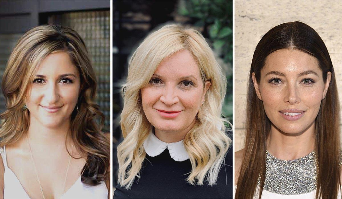 Le produttrici esecutive di Cruel Summer: Tia Napolitano, Michelle Purple e Jessica Biel.
