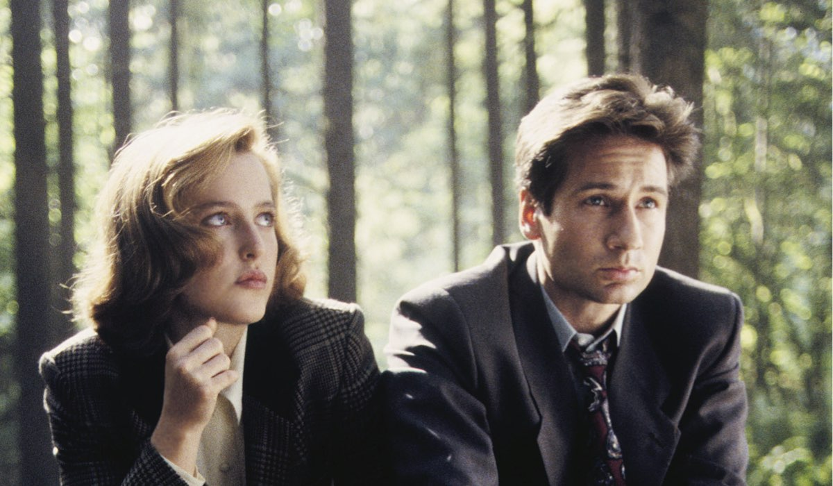 Una Scena Della Serie Tv X-Files Credits Disney
