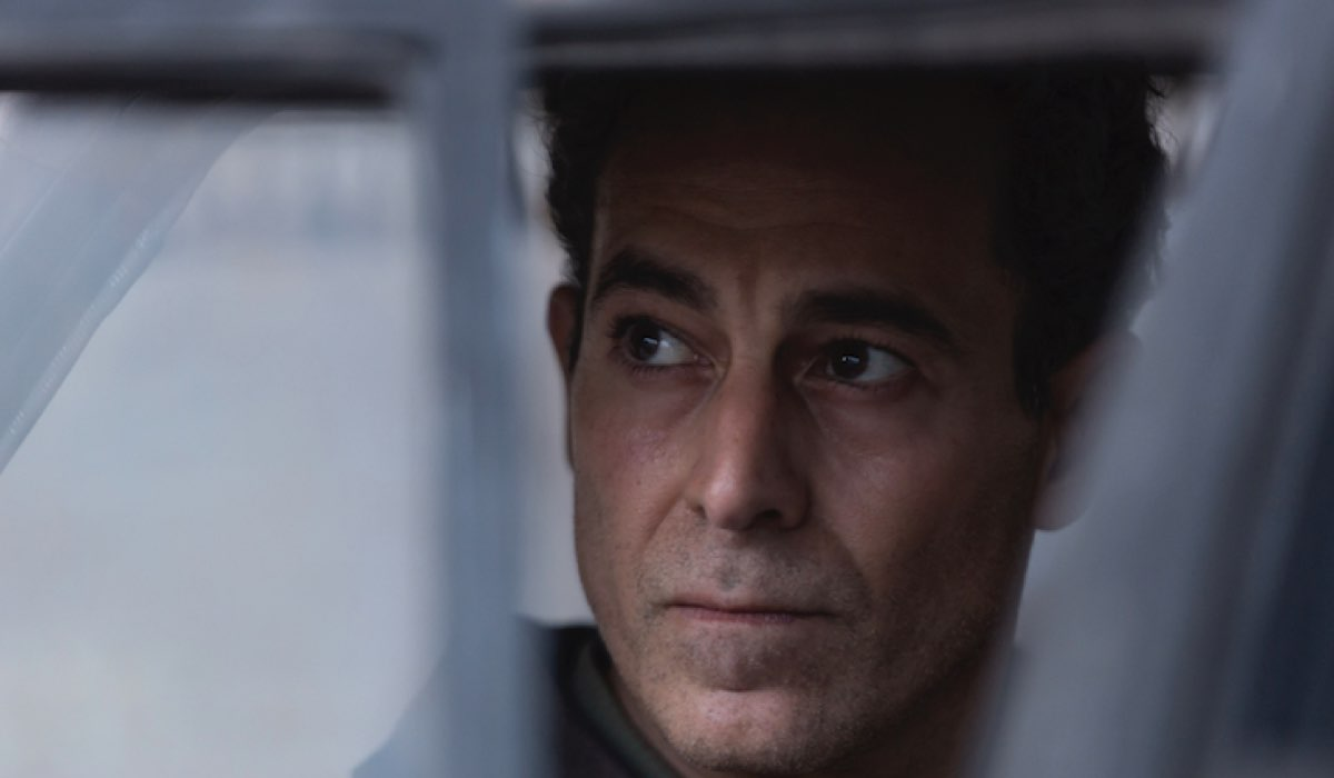 Muhsin al Khafaji, il protagonista di Baghdad Central interpretato da Waleed Zuaite. Credits: Fremantle via Sky Italia.