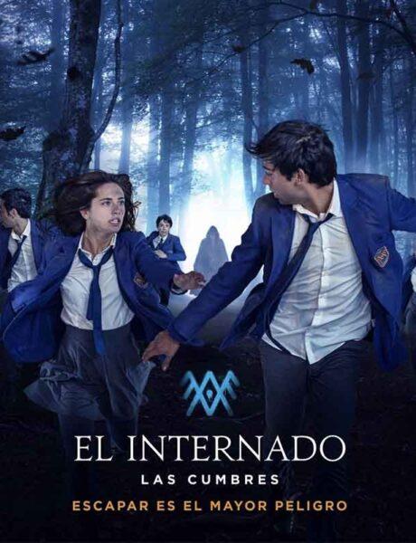 La locandina di El Internado: Las Cumbres. Credits: Amazon Prime Video.