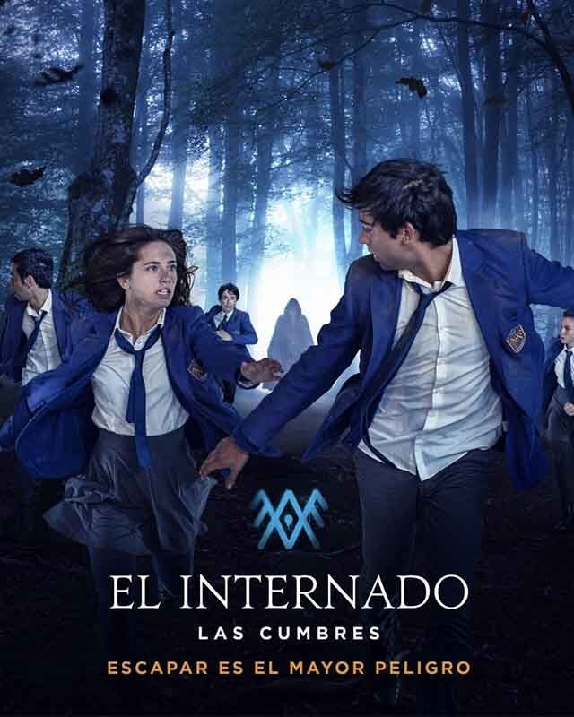 El Internado: Las Cumbres. Credits: Amazon Prime Video.