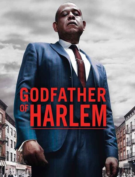 La locandina di Godfather of Harlem. Credits: ABC Signature.