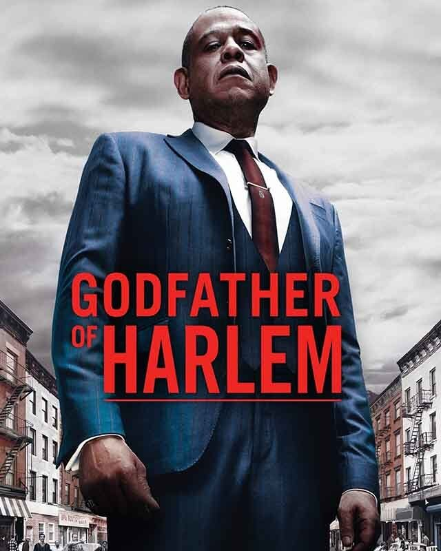 La locandina di Godfather of Harlem. Credits: ABC Signature, Significant Productions, Chris Brancato Inc.