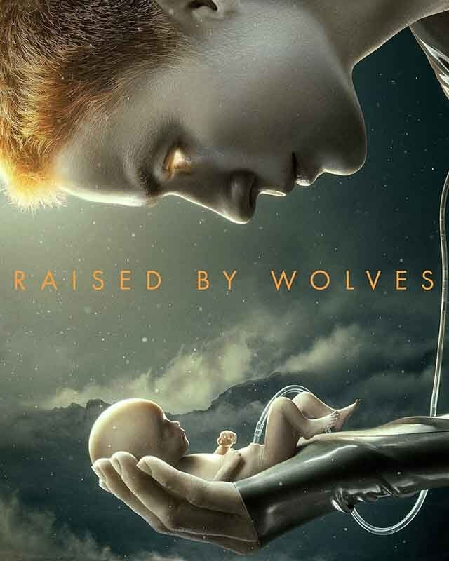 La locandina di Raised by Wolves. Credits: HBO.