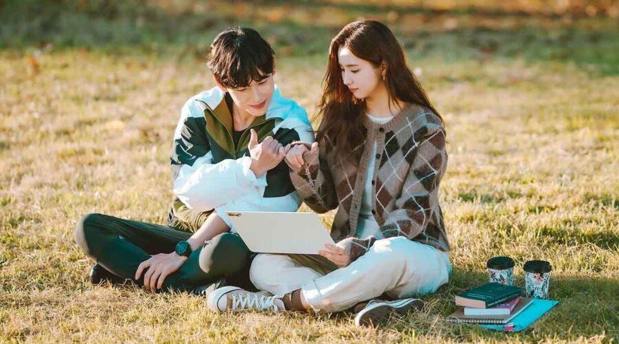Oh Mi Joo (Shin Se-kyung) e Ki Sun Gyeom (Im Si-wan) in una scena di Run On. Credits: Netflix.