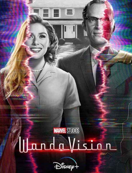 La locandina della serie TV WandaVision. Credits: Marvel Studios/Disney.