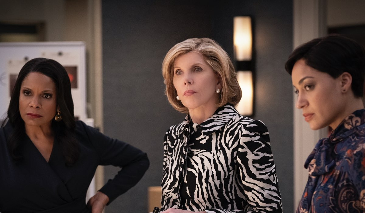 Christine Baranski In Una Scena Di The Good Fight 4 Stagione. Credits: Timvision