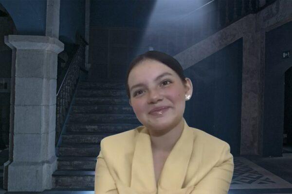 Francisca Aronsson nelle interviste di El Internado: Las Cumbres.