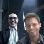 El Internado: Las Cumbres, Ramiro Blas e Lucas Velasco.