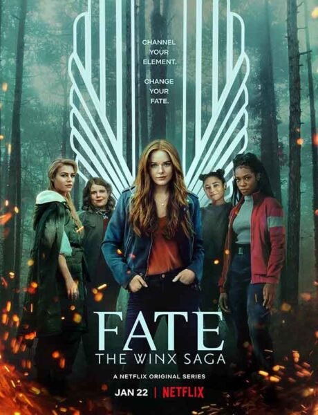 La locandina di Fate: The Winx Saga. Credits: Netflix.